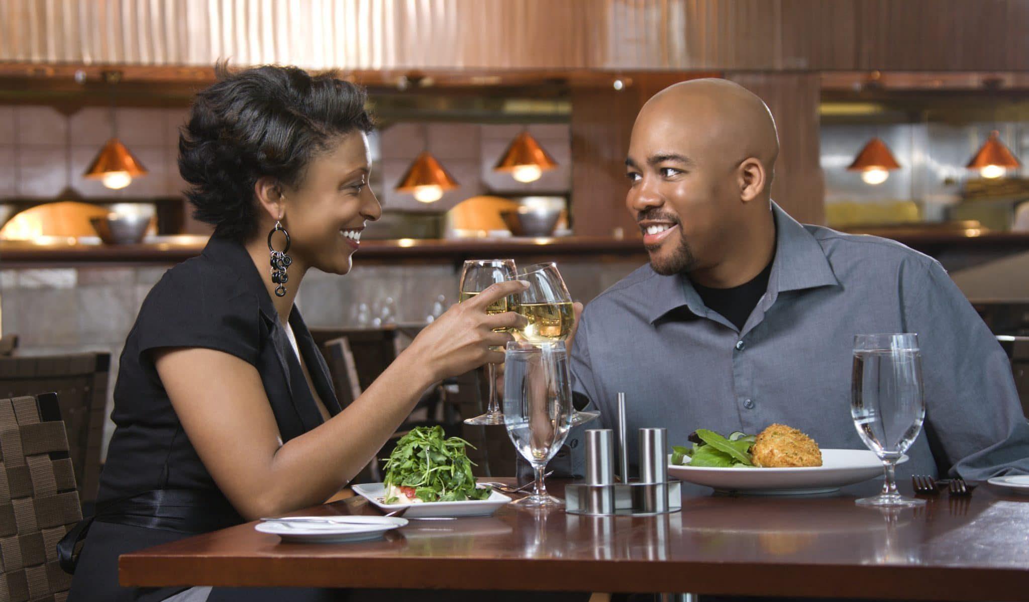 Black Couple Eating 1024